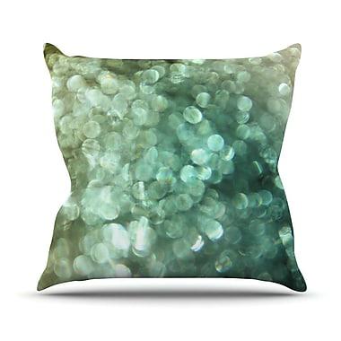 KESS InHouse Sparkle by Debbra Obertanec Glitter Throw Pillow; 26'' H x 26'' W x 1'' D