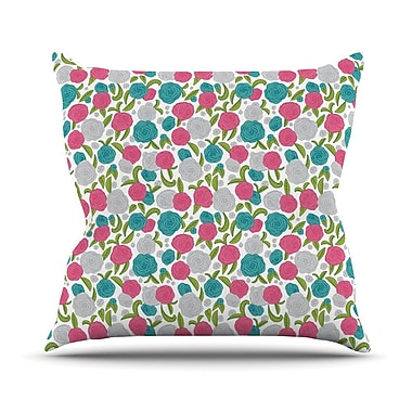 KESS InHouse Vintage Brights by Emma Frances Throw Pillow; 18'' H x 18'' W x 1'' D