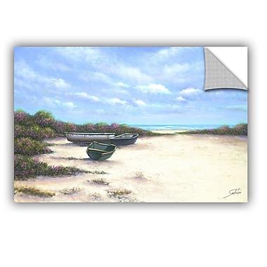 ArtWall West Wind Beach Wall Mural; 12'' H x 18'' W x 0.1'' D