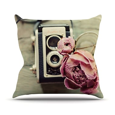KESS InHouse I Have But Two Loves by Cristina Mitchell Throw Pillow; 18'' H x 18'' W x 1'' D