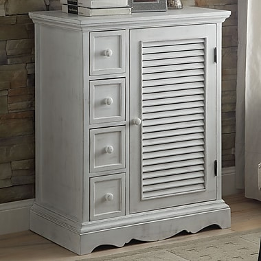 Anthony California Country Living 4 Drawer Accent Cabinet