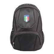 Federazione Italiana Giuoco Calcio Black Polyester Backpack (FC1411-B)