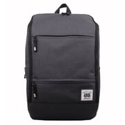 AfterGen Grey Polyester Travelers Backpack (AG004-GR)