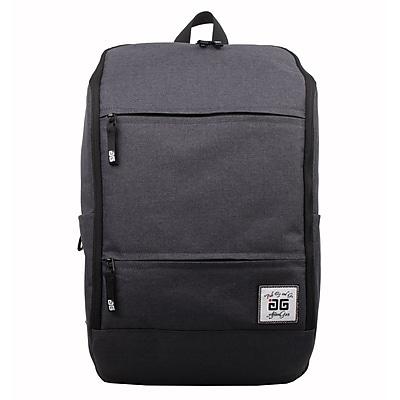 AfterGen Grey Polyester Travelers Backpack (AG004-GR)