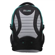 Mercedes AMG Petronas Black/Grey Polyester Travelers Backpack (AMGJ-001)