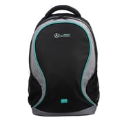 Mercedes AMG Petronas Black/Grey Polyester Backpack (AMGJ-009)
