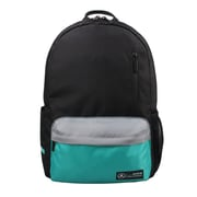 Mercedes AMG Petronas Black Polyester Back-to-School Backpack (AMGJ-036)