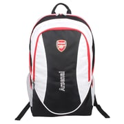 Arsenal Black/White Polyester Team Backpack (ARS013)