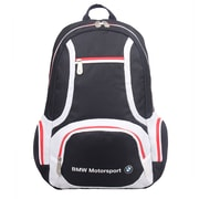 BMW Motorsports Navy Blue/White Polyester Active Backpack (BMJ-101)