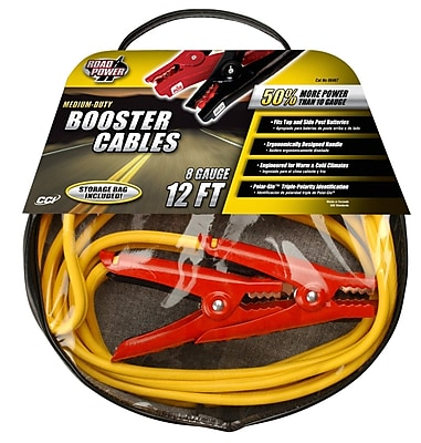 Coleman Cable 08467 8-Gauge Medium Duty Booster