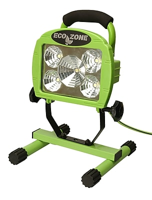 Designers Edge L1312 5-LED Portable Work Light, 6-Foot Cord, Green