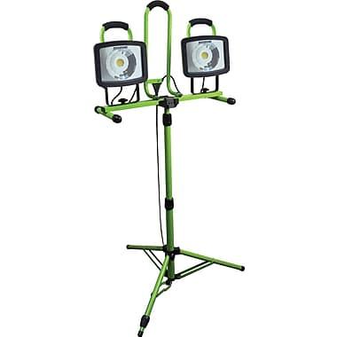 Designers Edge L1682 Array 46-Watt LED Twin Head Telescoping Tripod Work Light