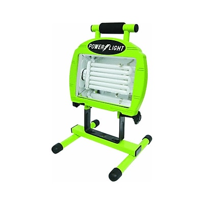 Designers Edge L2004 65-Watt Fluorescent Portable Work Light, 5-Foot Cord, Green