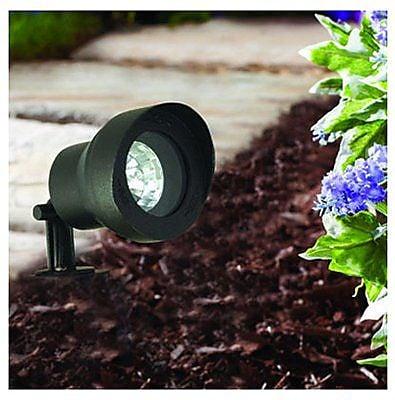 Moonrays 95728 Low Voltage 20-Watt Metal Adjustable Floodlight, Black Finish