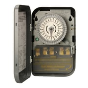 Woods 59104 208-277-Volt DPST 24-Hour Mechanical Time Switch, 40-Amp, Indoor
