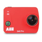 AEE S40 Pro MagiCam Action Camera, Red
