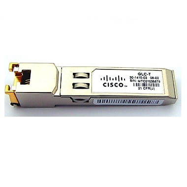 Cisco 1000BASE-T SFP Gigabit Ethernet Transceiver Module