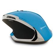 Verbatim – Souris sans fil pour ordinateur de bureau à 8 boutons de luxe à DEL bleu 99019