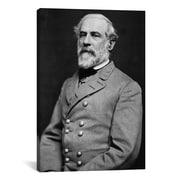 iCanvas Political General Robert E. Lee Photographic Print on Canvas; 12'' H x 8'' W x 0.75'' D