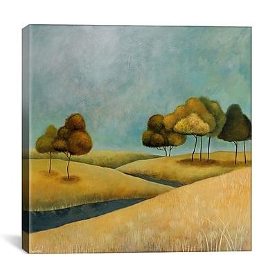 iCanvas Decorative ''River'' by Pablo Esteban Painting Print on Cavas; 26'' H x 26'' W x 0.75'' D