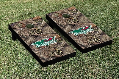 Victory Tailgate NCAA Mossy Oak Version Cornhole Game Set; Wisconsin Green Bay Phoenix WYF078278633819