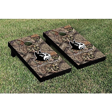 Victory Tailgate NCAA Mossy Oak Version Cornhole Game Set; Wofford Terriers