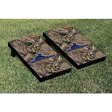 Victory Tailgate NCAA Mossy Oak Version Cornhole Game Set; Worcester State Lancers