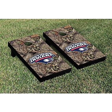 Victory Tailgate NCAA Mossy Oak Version Cornhole Game Set; Southern Indiana Screaming Eagles