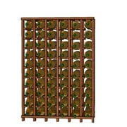 Wineracks.com Premium Cellar Series 60 Bottle Floor Wine Rack; Mahogany
