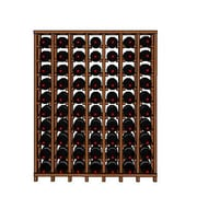 Wineracks.com Premium Cellar Series 70 Bottle Floor Wine Rack; Mahogany