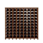 Wineracks.com Premium Cellar Series 90 Bottle Floor Wine Rack; Mahogany