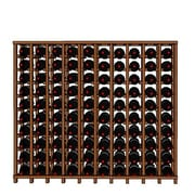 Wineracks.com Premium Cellar Series 100 Bottle Floor Wine Rack; Mahogany