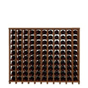 Wineracks.com Premium Cellar Series 110 Bottle Floor Wine Rack; Mahogany