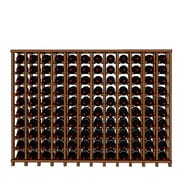 Wineracks.com Premium Cellar Series 120 Bottle Floor Wine Rack; Mahogany