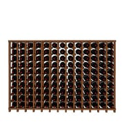 Wineracks.com Premium Cellar Series 130 Bottle Floor Wine Rack; Mahogany