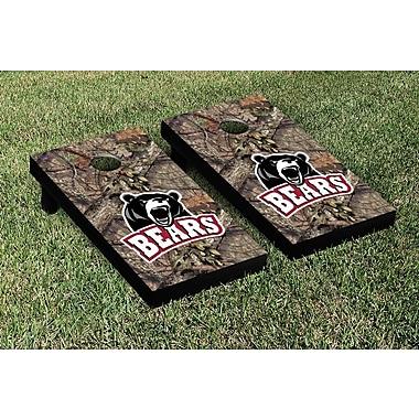 Victory Tailgate NCAA Mossy Oak Version Cornhole Game Set; Lenoir Rhyne Bears