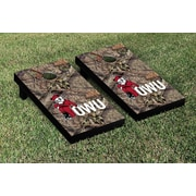 Victory Tailgate NCAA Mossy Oak Version Cornhole Game Set; Ohio Wesleyan OWU Battling Bishops