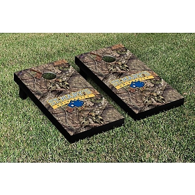 Victory Tailgate NCAA Mossy Oak Version Cornhole Game Set; Saint Marys Rattlers