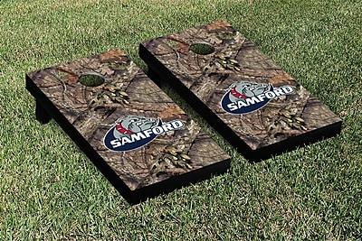 Victory Tailgate NCAA Mossy Oak Version Cornhole Game Set; Samford University Bulldogs
