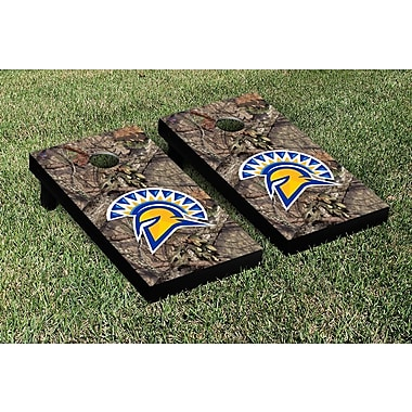 Victory Tailgate NCAA Mossy Oak Version Cornhole Game Set; San Jose State Spartans