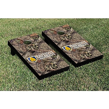 Victory Tailgate NCAA Mossy Oak Version Cornhole Game Set; Southern Arkansas University Muleriders