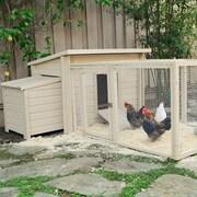 New Age Pet Fontana Chicken Barn; Natural Tan