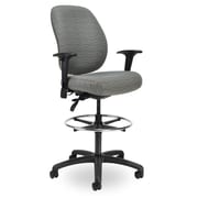 Seating Inc Contour II Drafting Chair; Black