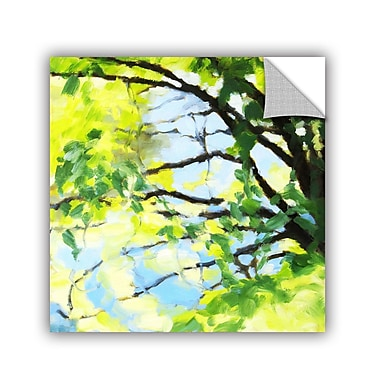 ArtWall Bright Tree And Blue Wall Mural; 24'' H x 24'' W x 0.1'' D
