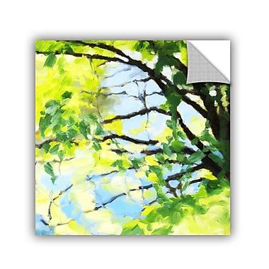 ArtWall Bright Tree And Blue Wall Mural; 14'' H x 14'' W x 0.1'' D