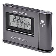 """Chaney Instruments Acurite® Indoor 3.6""""H x 5.1""""W x 1.25""""D Digital Atomic Projection Table Clock (13239A1)"""