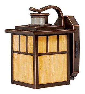Vaxcel Mission 1-Light Outdoor Wall Lantern