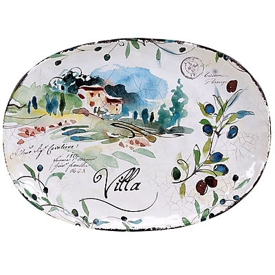 Certified International Villa Platter