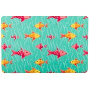 Island Girl Home Coastal Fish Mat
