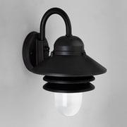 Progress Lighting Newport I 1-Light Barn Light; Black